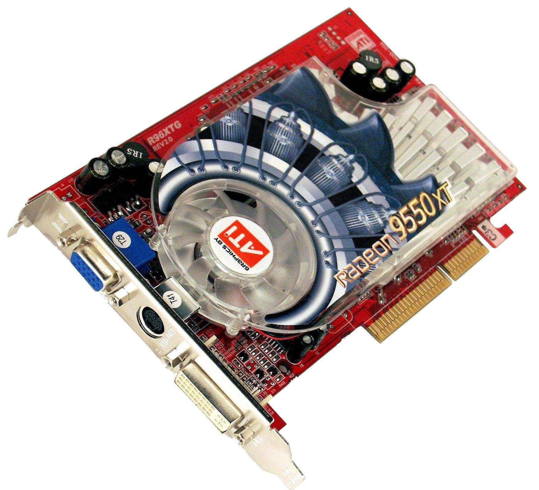 ATI 3DP GeXCube Radeon 9600XT 64 BIT Driver