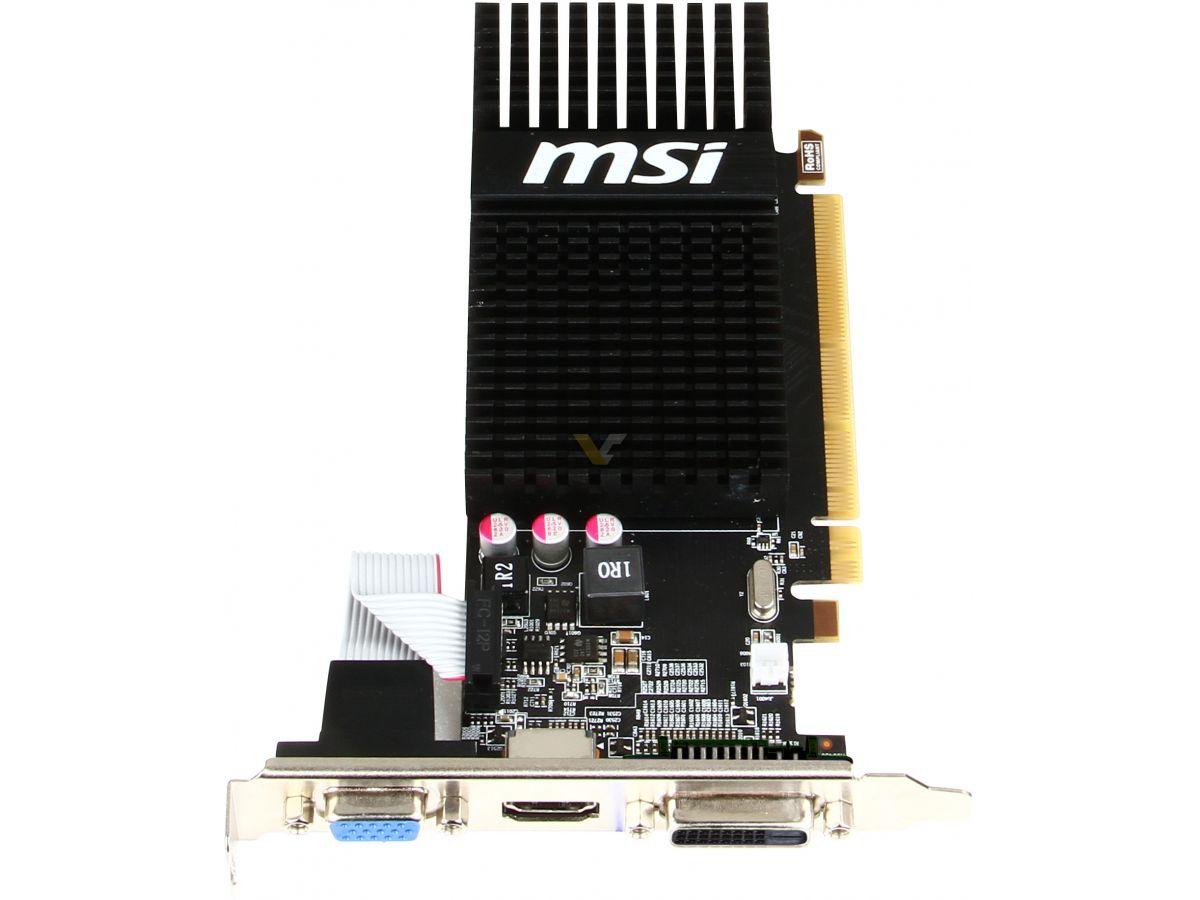 MSI Radeon R5 230 1GB LP | VideoCardz net