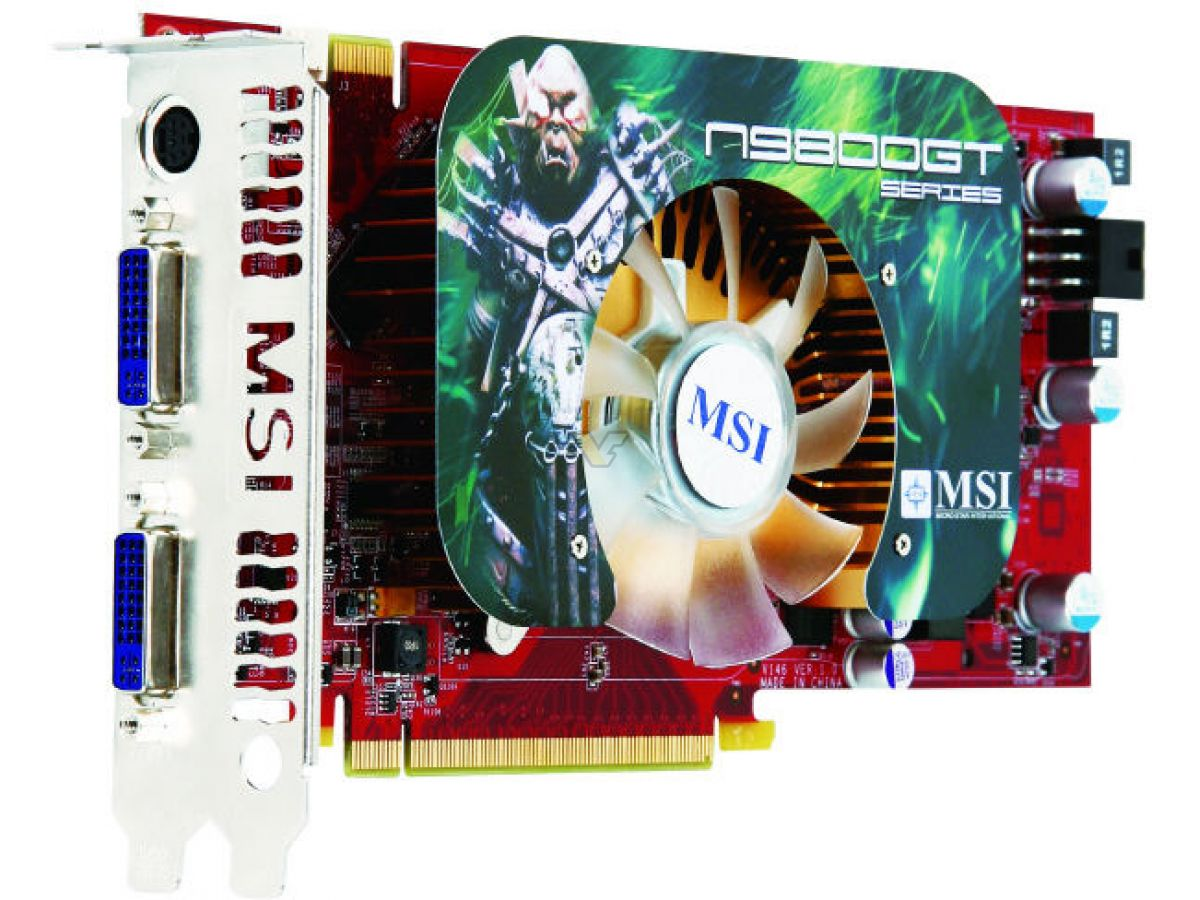 MSI 9800GT WINDOWS 10 DRIVER