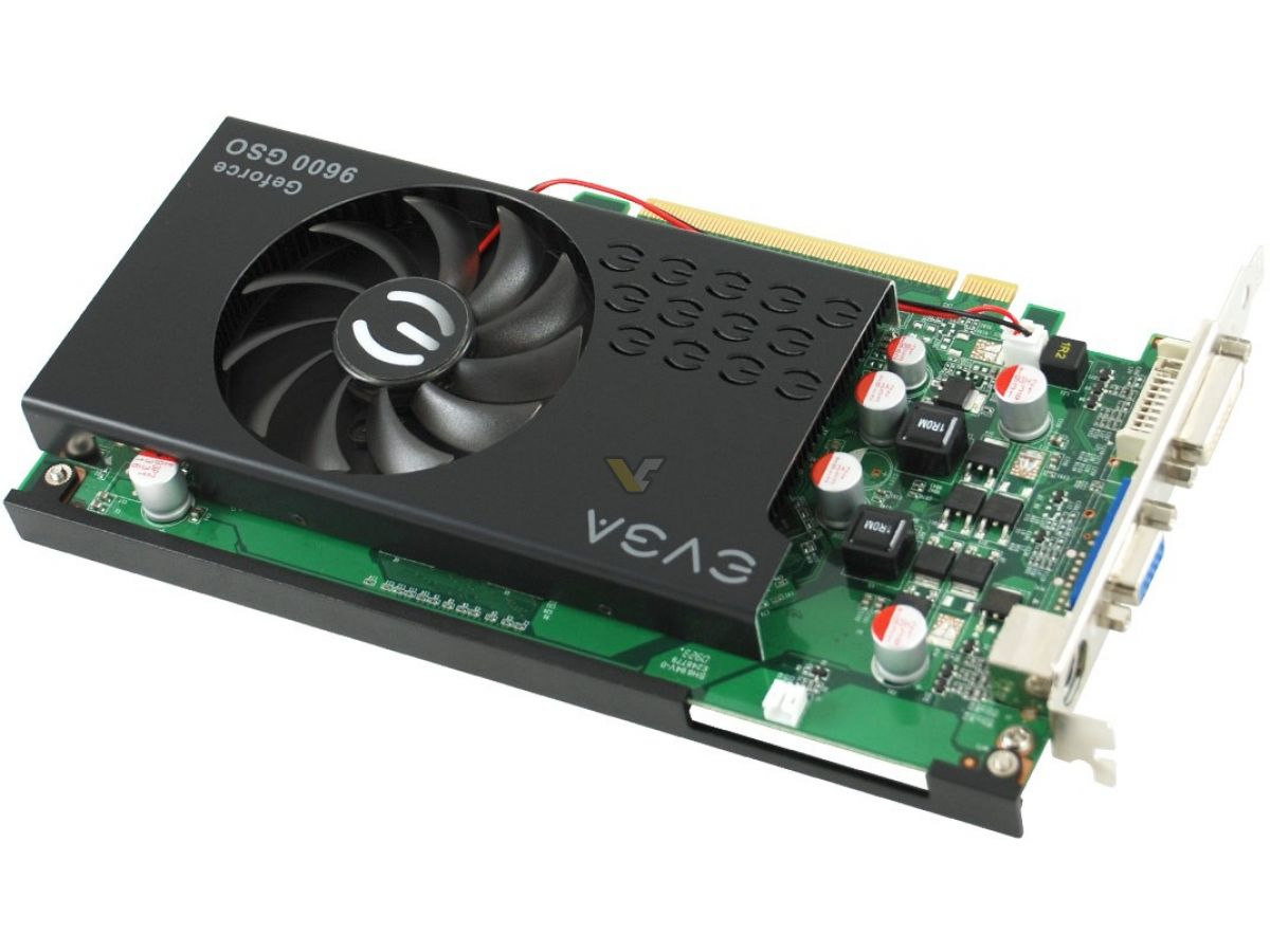 ECS N9600GSO-384MX-F NVIDIA Graphics Windows