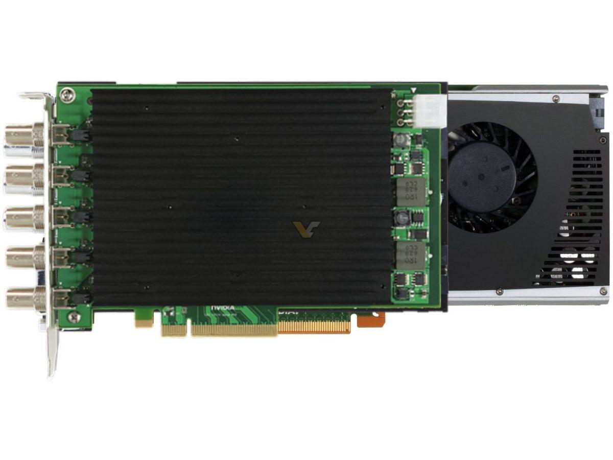 NVIDIA Quadro 4000 SDI I/O | VideoCardz net