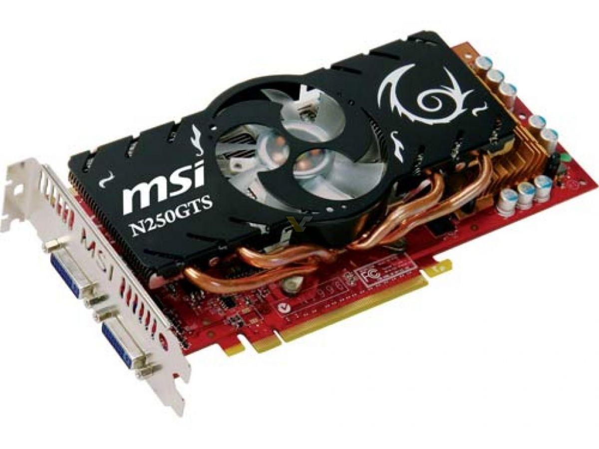 MSI N250GTS-2D1G-OC/N250GTS-2D512-OC TREIBER WINDOWS XP