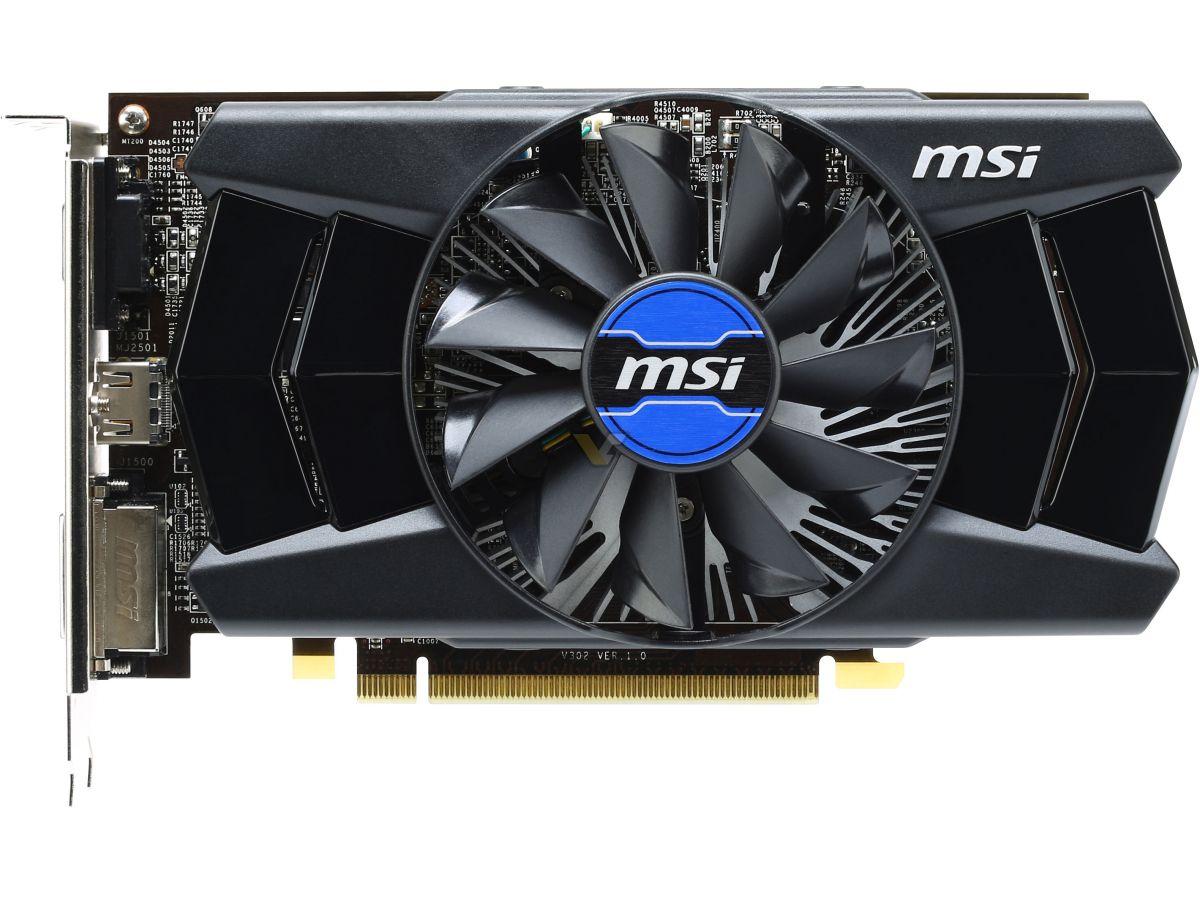 MSI Radeon R7 250 2GB OC | VideoCardz net