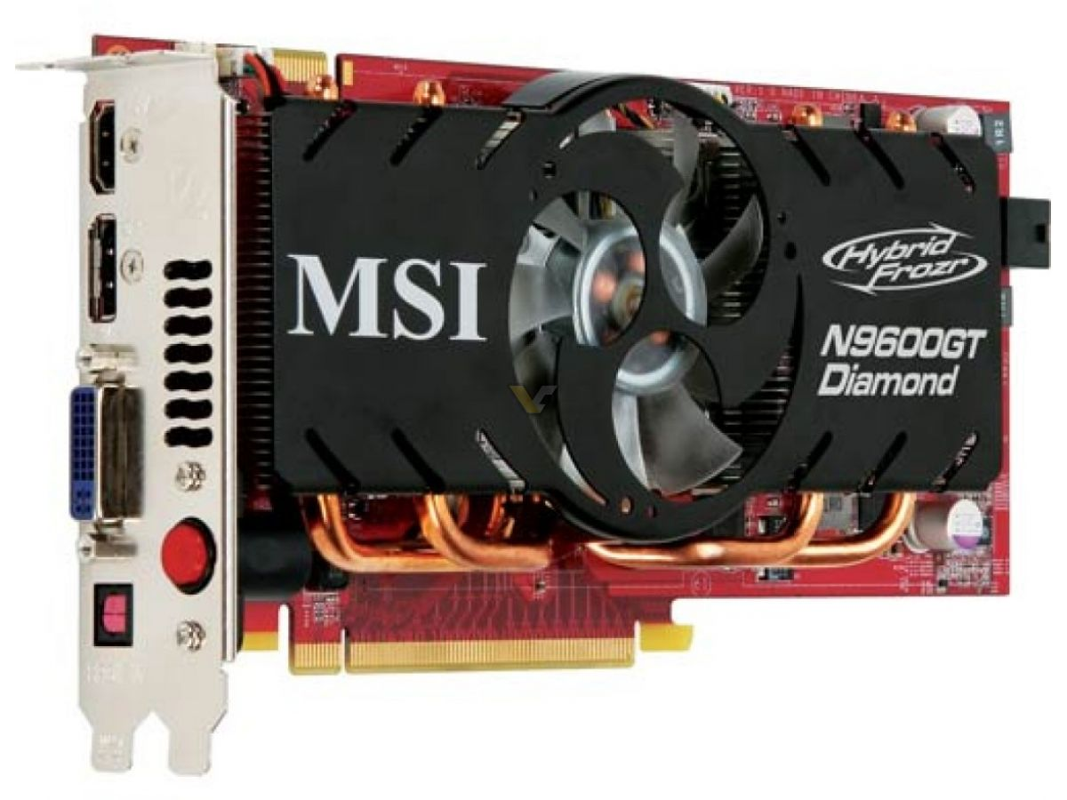 MSI N9600GT Zilent 1G Graphic Card Drivers Windows