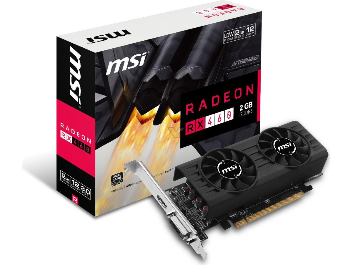 MSI launches low-profile Radeon RX 460   VideoCardz com