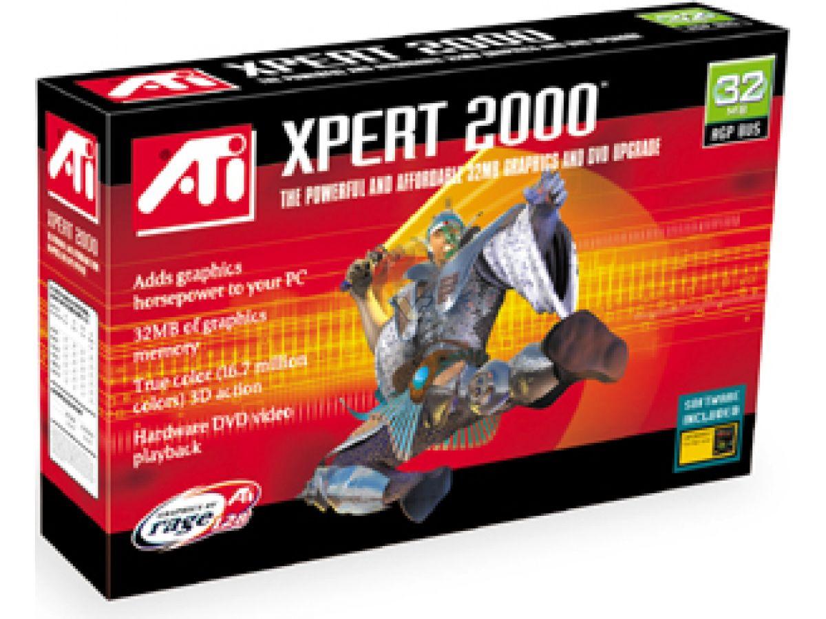 ATI XPERT2000 DRIVERS UPDATE