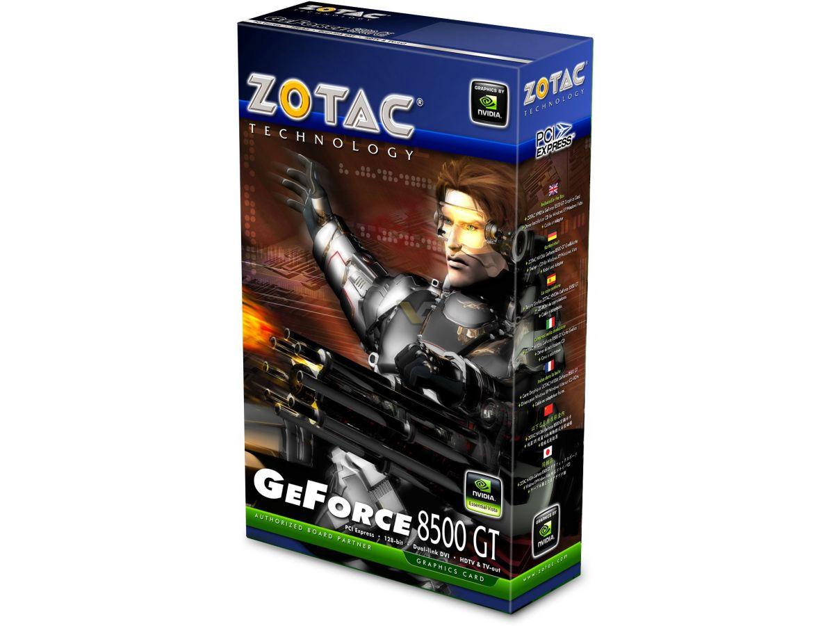 Zotac geforce 8500 gt review   techpowerup.