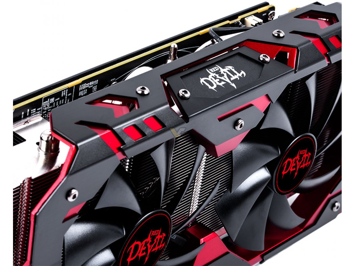 POWERCOLOR Radeon RX 580 8GB Red Devil Golden Sample