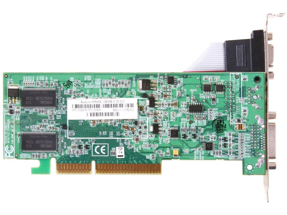 ATI Radeon 9550 SE | VideoCardz.net