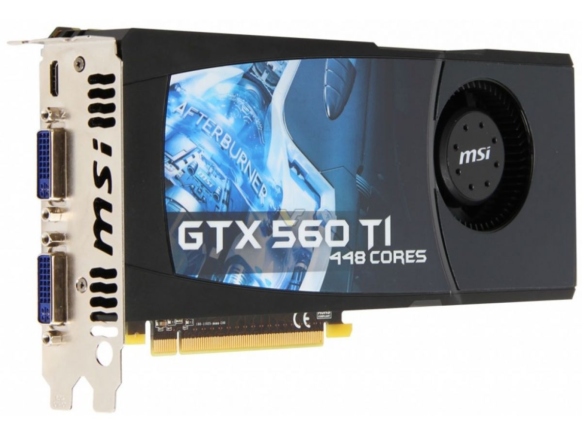 MSI GeForce GTX 560 Ti 1GB 448 Cores | VideoCardz.net