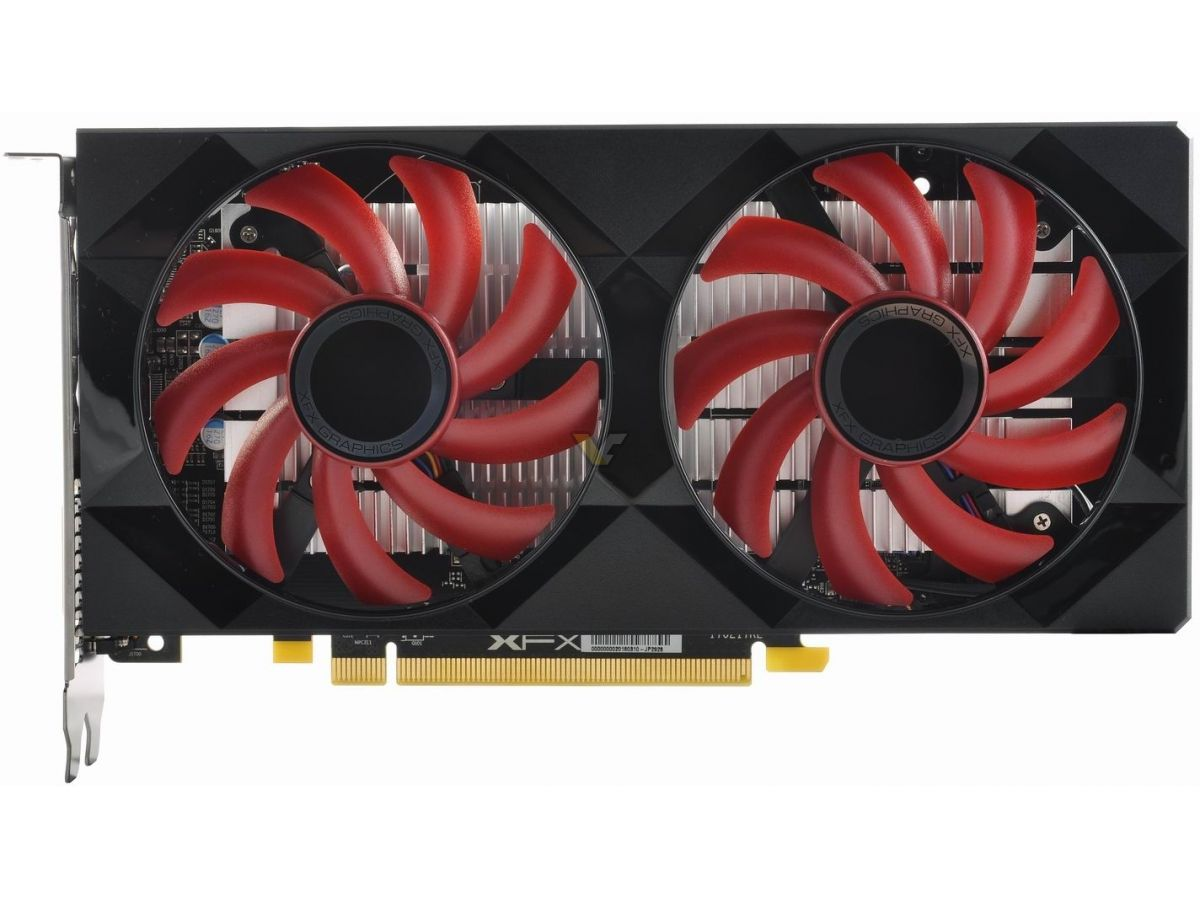 XFX Radeon RX 560 4GB Double Dissipation OC | VideoCardz net