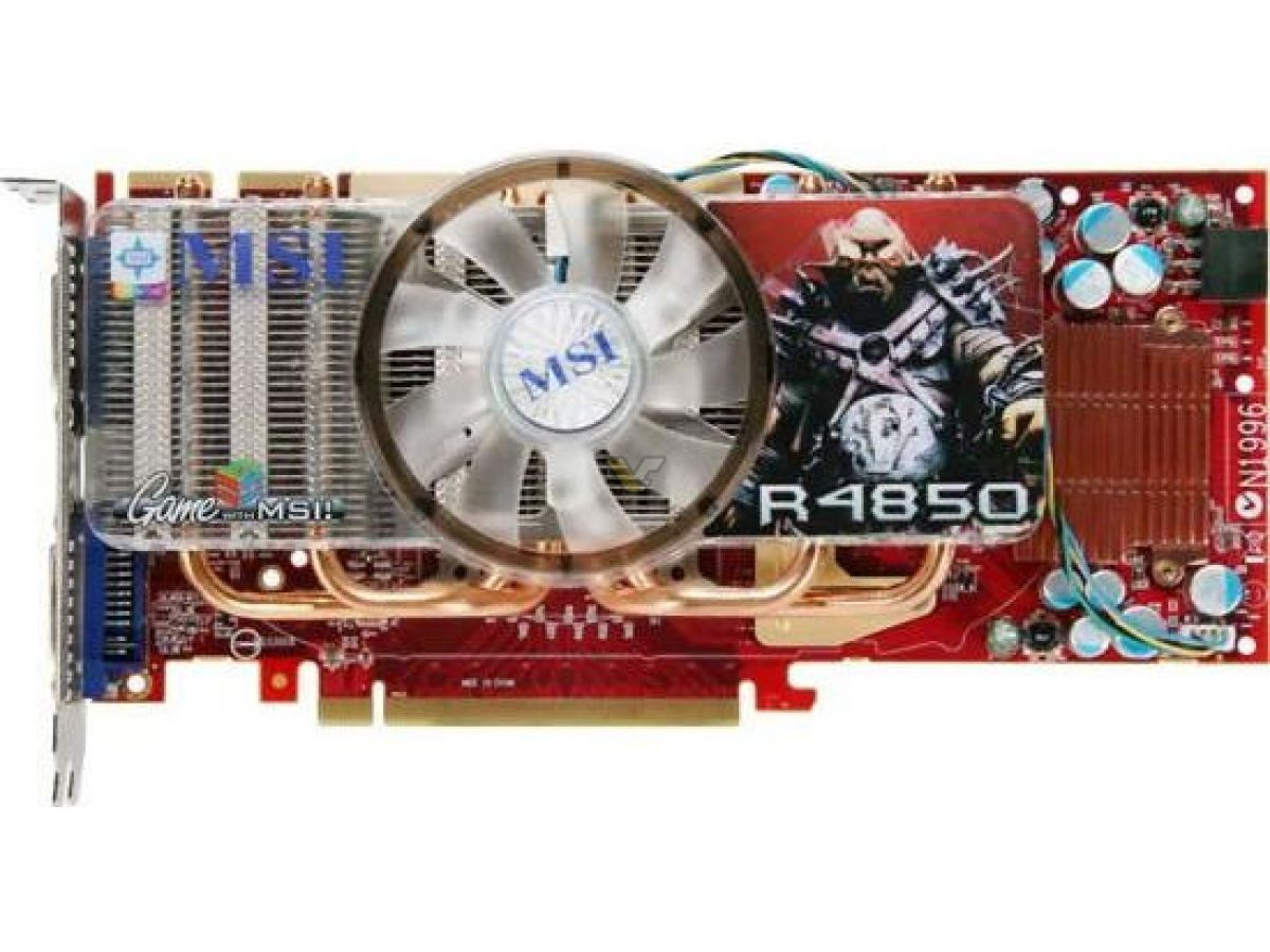 MSI ATI R4850 WINDOWS 8.1 DRIVER