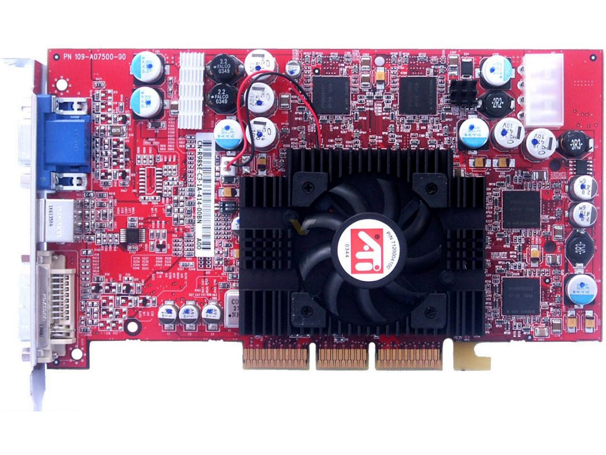 128MB DDR ATI RADEON 9800 PRO SEC DRIVER DOWNLOAD FREE