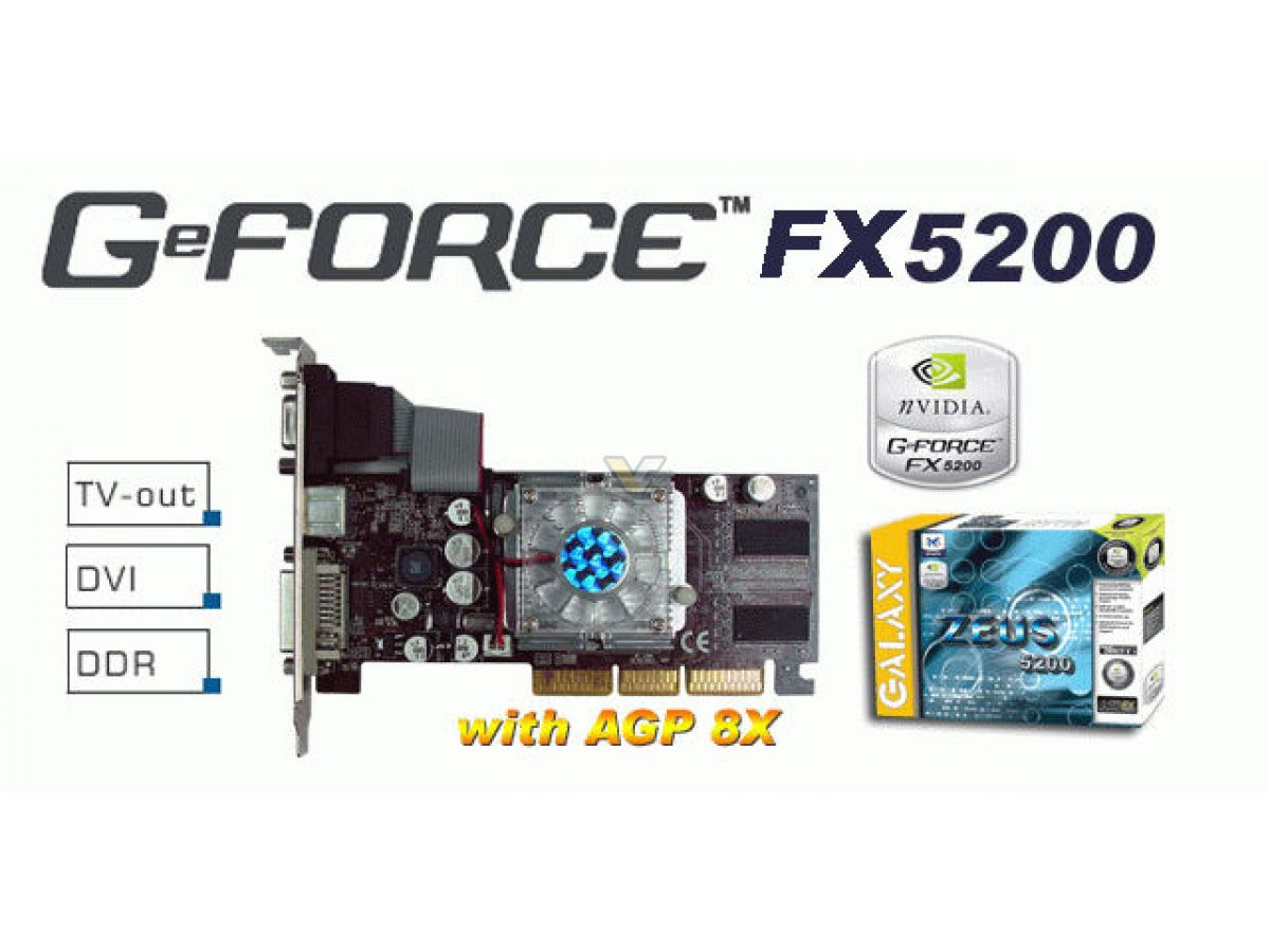 geforce fx 5200 windows 7 drivers