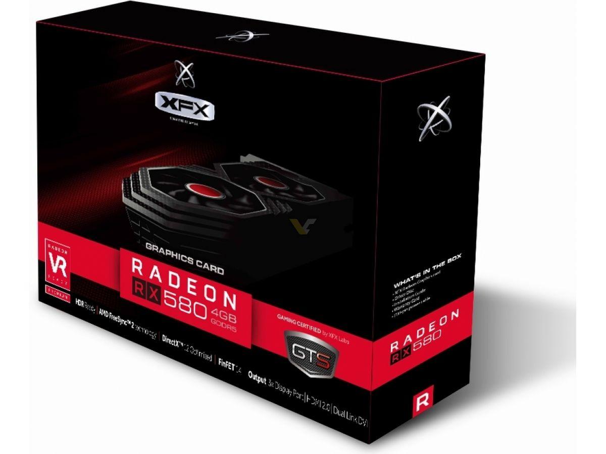 XFX Radeon RX 580 4GB GTS XXX | VideoCardz net