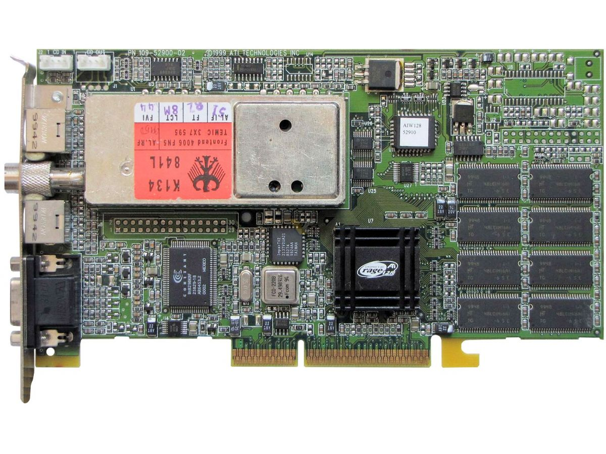 ATI ALL IN WONDER 128/16MB/TV-OUT DRIVER