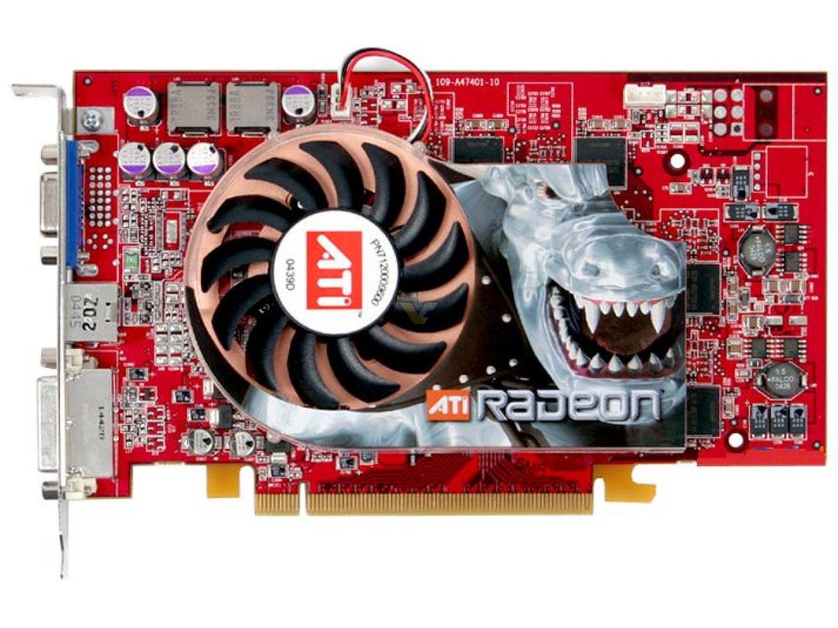 ATI RADEON X800 SERIES -SECONDARY TREIBER
