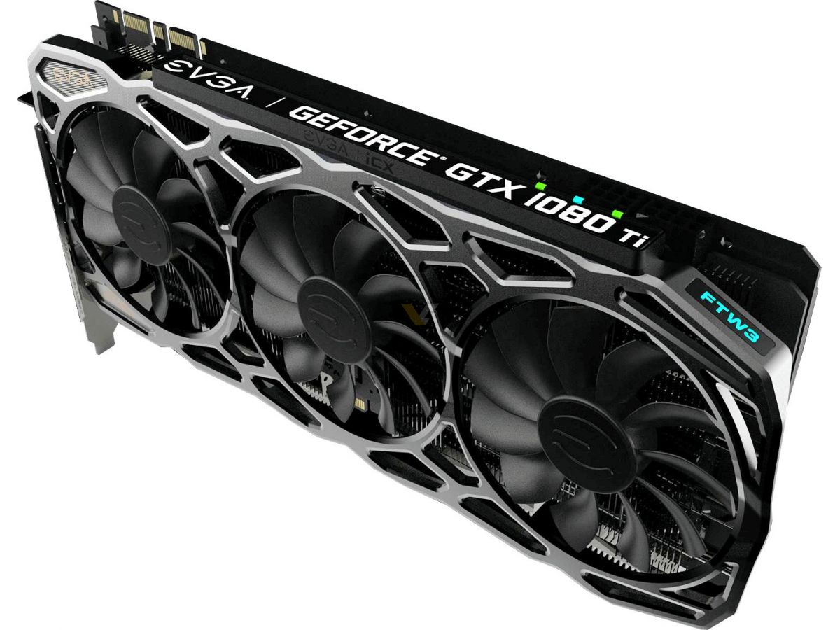 EVGA confirms GTX 1080 Ti SC, SC2 and FTW3 specifications
