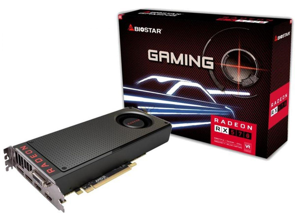 BIOSTAR Radeon RX 570 4GB | VideoCardz net