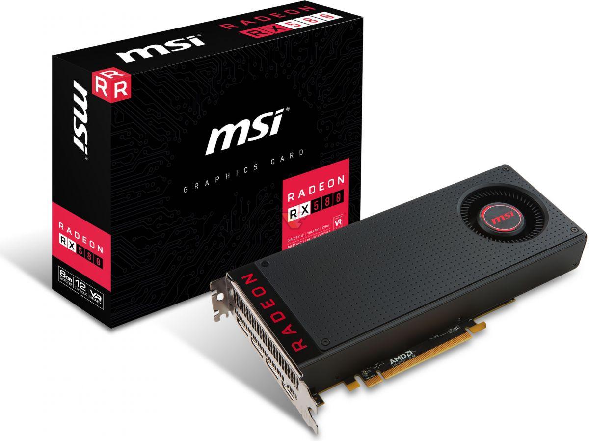 MSI Radeon RX 580 8GB | VideoCardz net