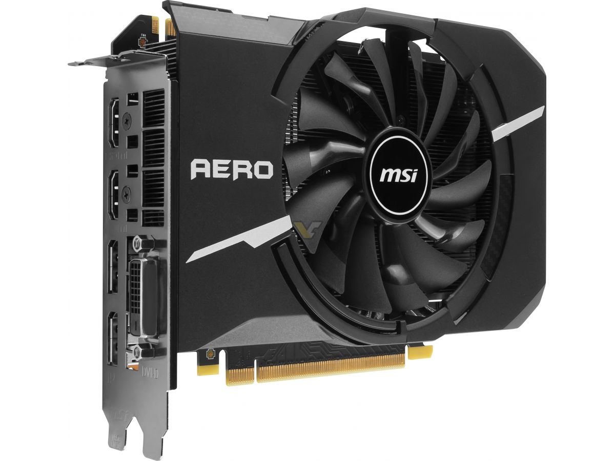 MSI launches GeForce GTX 1070/1060/1050(Ti) AERO ITX series