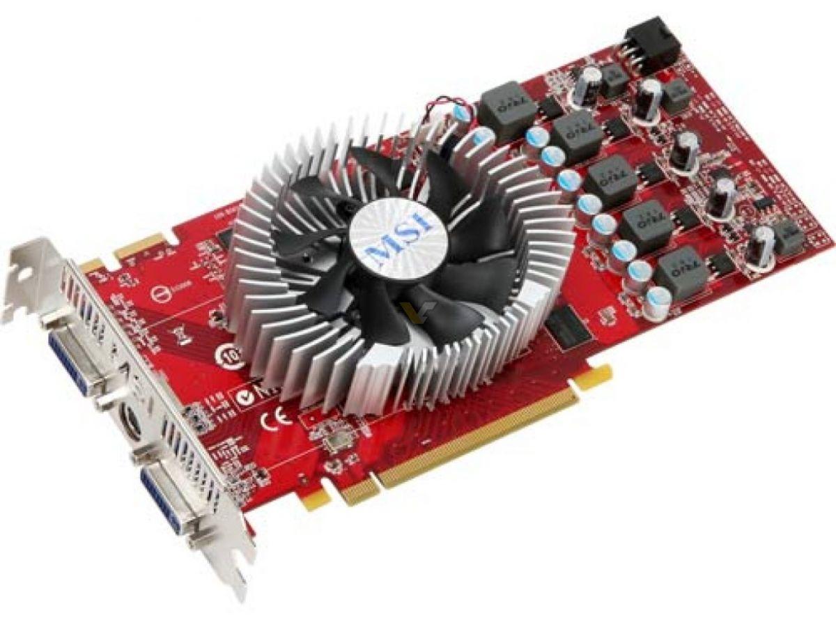MSI ATI Radeon HD 4830 Graphic Cards Drivers Windows