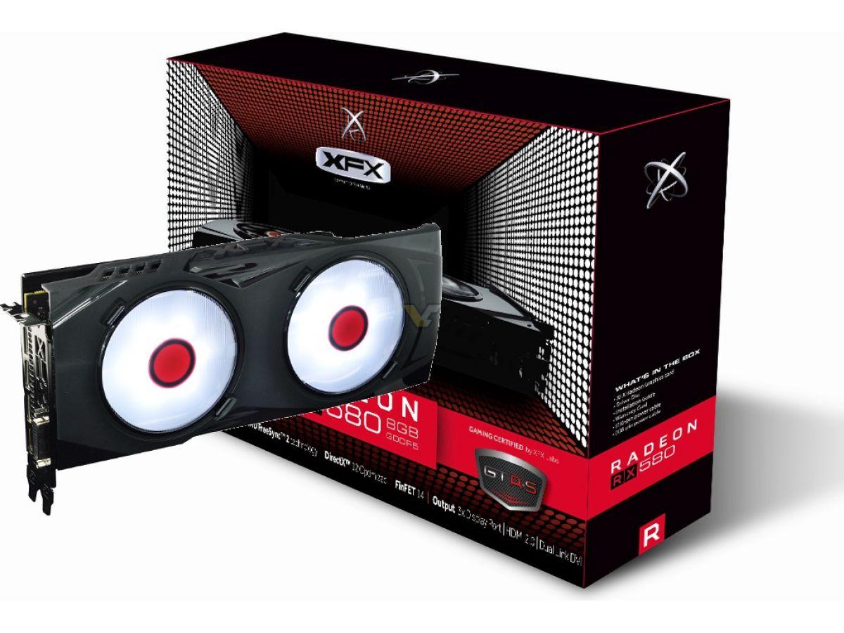 XFX Radeon RX 580 8GB GTR-S BLACK EDITION   VideoCardz.net