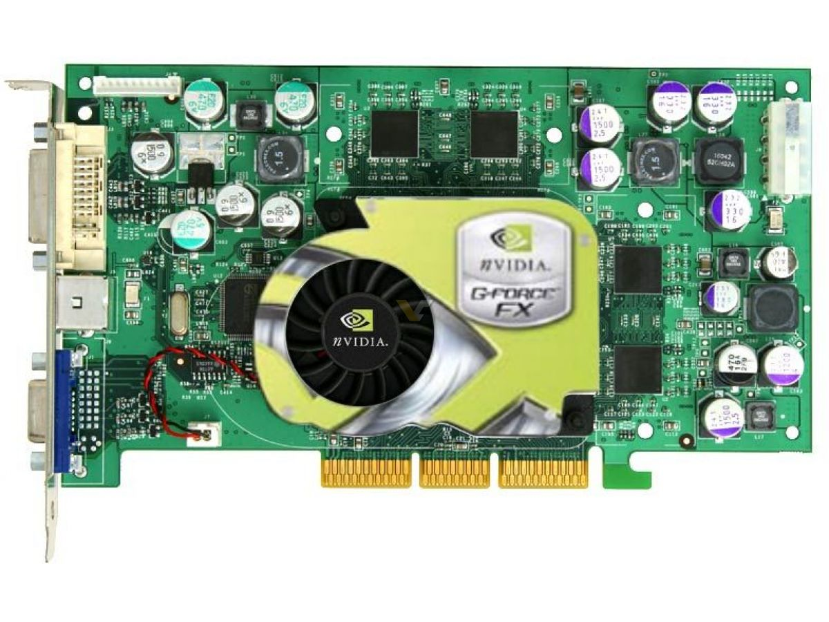 nvidia corporation nv34 geforce fx 5200